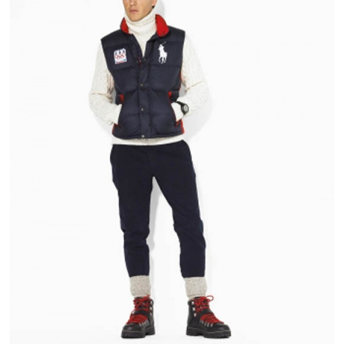 Polo Ralph Lauren Men Body Warmer Team 2018