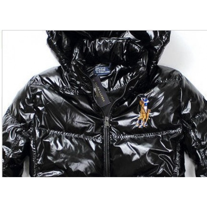 Polo Ralph Lauren Men Down Jackets Light Black Fashion