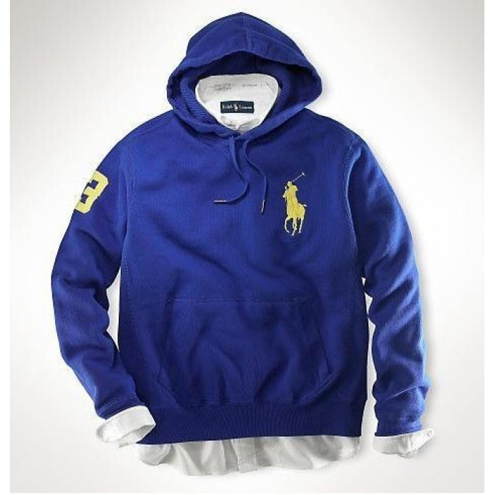 Polo Ralph Lauren Hoodies Men Classic Big Pony Pullover 04