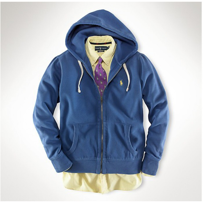 Polo Ralph Lauren Hoodies Men Classic Fleece Sky Blue
