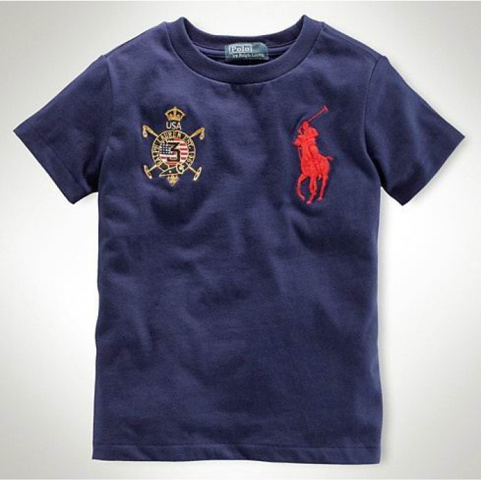 Polo Ralph Lauren Mens Crew Neck T Shirts Country Fance