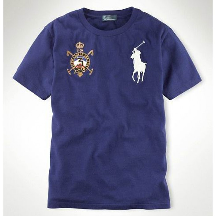 Polo Ralph Lauren Mens Crew Neck T Shirts Country USA