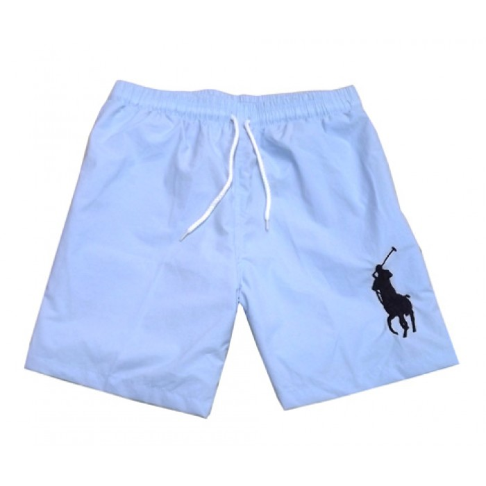 Polo Ralph Lauren Mens Big Pony Shorts Sky Blue