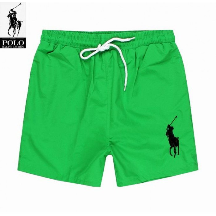 Polo Ralph Lauren Mens Lace Shorts Big Pony Green