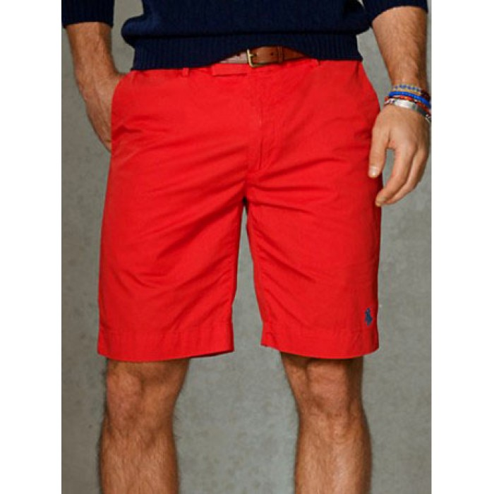 Polo Ralph Lauren Shorts Classic Small Pony Mens Red