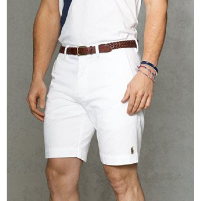 Polo Ralph Lauren Shorts Classic Small Pony White