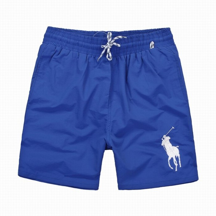 Polo Ralph Lauren Mens Shorts Stripe Lace Big Pony Light Blue