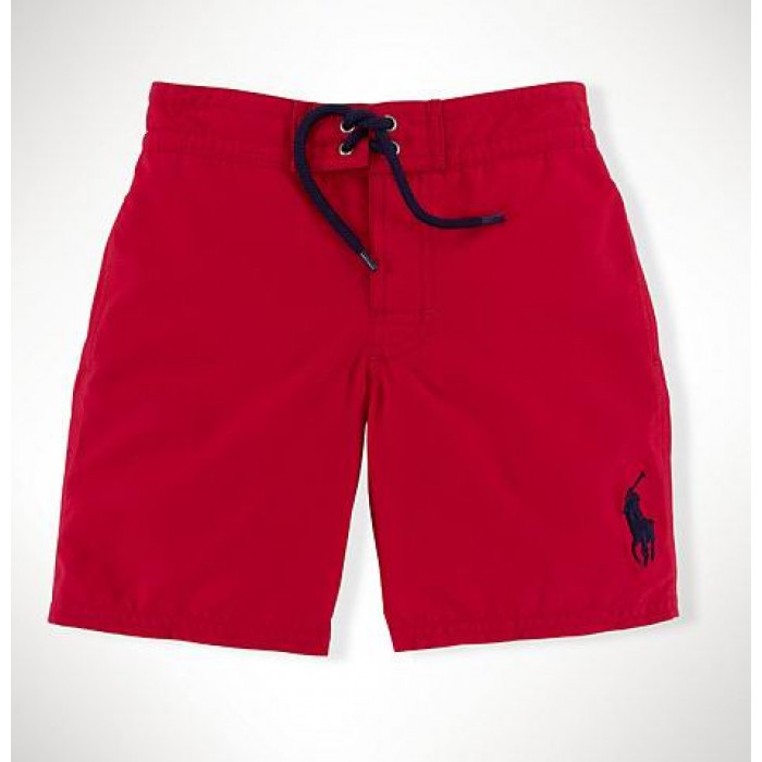 Ralph Lauren Chino Shorts Lace Red USA Outlet