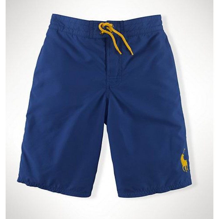 Sale Ralph Lauren Swimming Shorts Lace Blue