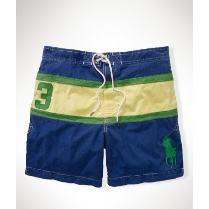 Wholesale Ralph Lauren Shorts Menswear Strip Blue