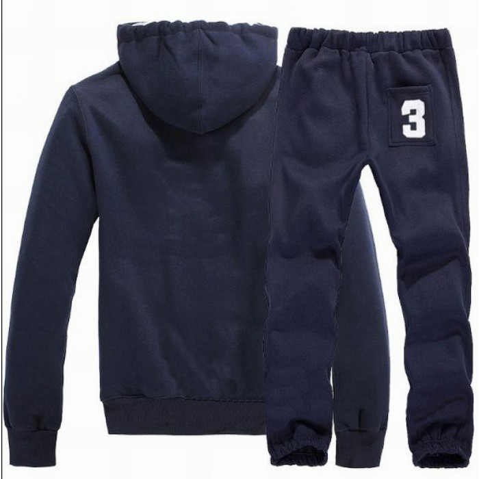 Polo Ralph Lauren Men Hood Suits USA Royalblue