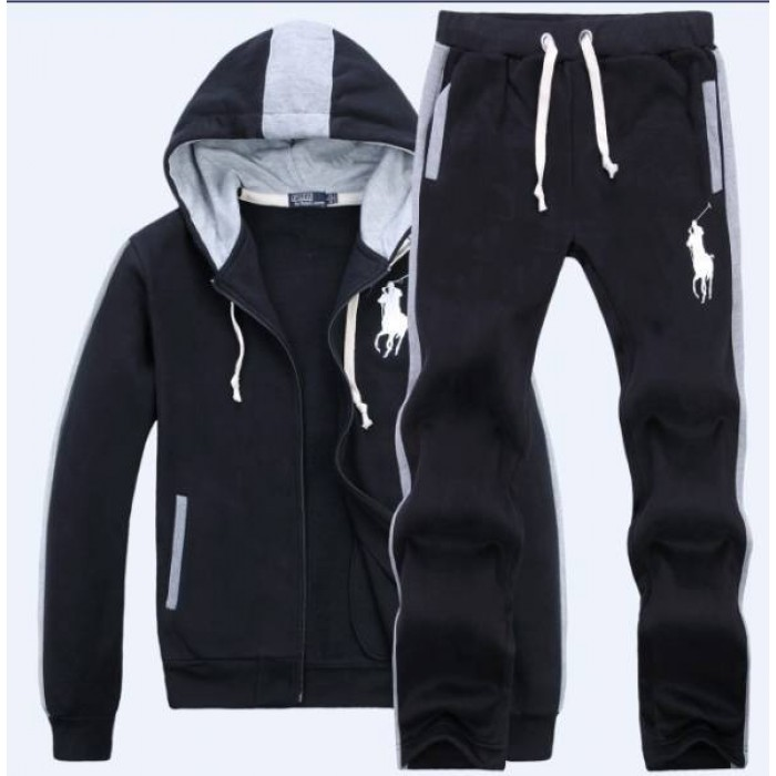 Polo Ralph Lauren Mens Sweat Suits Black UK Sale