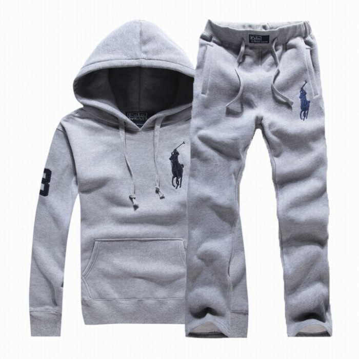 Ralph Lauren Mens Hoodies Sweat Suits Grey Blue Website